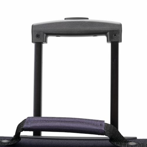 U.S. Traveler Esther Expandable Spinner Luggage Set - Purple Perspective: bottom
