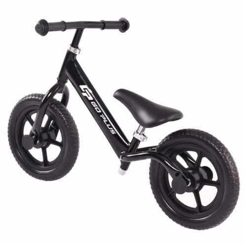 Goplus 12'' Balance Bike Classic Kids No-Pedal Learn To Ride Pre Bike w/ Adjustable Seat Perspective: bottom