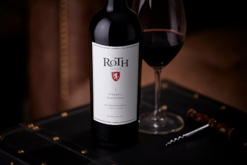 Roth Estate Alexander Valley Cabernet Sauvignon Red Wine Perspective: bottom