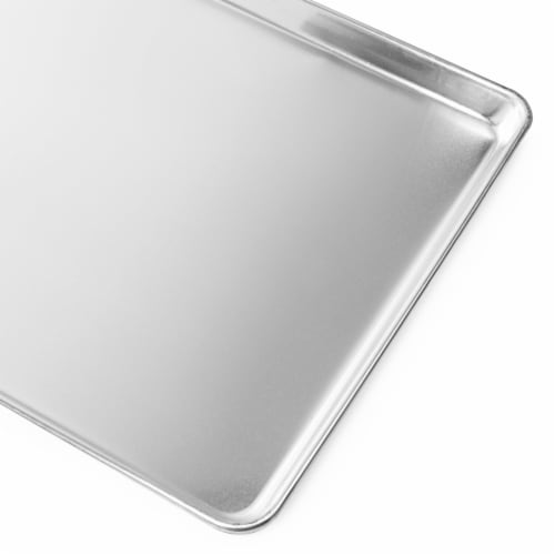6 Pans Commercial Grade Aluminum Cookie Sheets by GRIDMANN Perspective: bottom