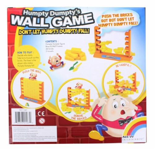 Humpty Dumptys Wall Game | For 2 Players Ages 4 and Up Perspective: bottom