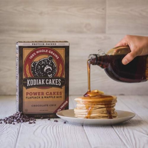 Kodiak Cakes Power Cakes Chocolate Chip Flapjack & Waffle Mix Perspective: bottom
