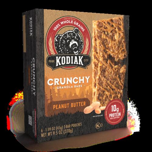 Kodiak Cakes Protein-Packed Peanut Butter Crunchy Granola Bars Perspective: bottom