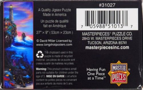 Master Pieces Paradise 500-Piece Puzzle Perspective: bottom