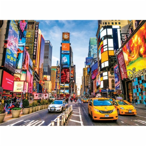 MasterPieces Shutter Speed Times Square Jigsaw Puzzle Perspective: bottom