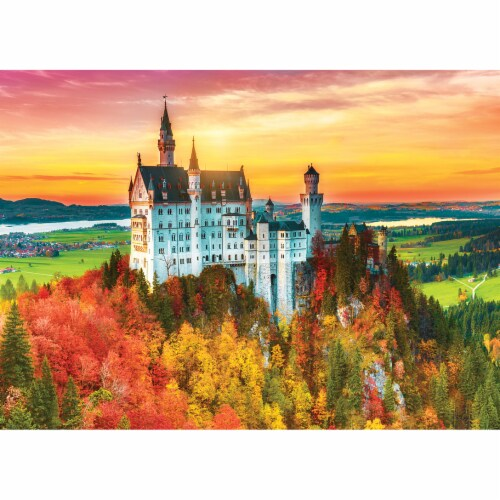 MasterPieces Shutter Speed Autumn Castle Jigsaw Puzzle Perspective: bottom