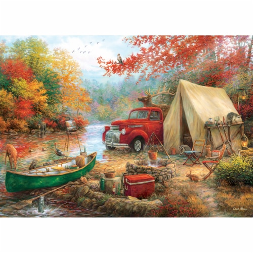 MasterPieces® Chuck Pinson Share the Outdoors Jigsaw Puzzle Perspective: bottom