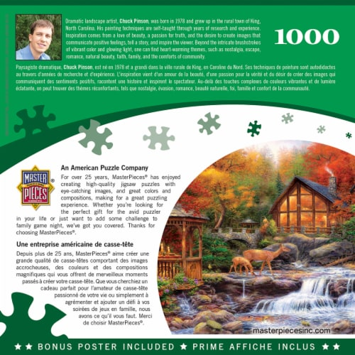 MasterPieces® Chuck Pinson Colors of Life Jigsaw Puzzle Perspective: bottom