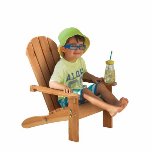 KidKraft Children's Adirondack Chair - Honey Perspective: bottom
