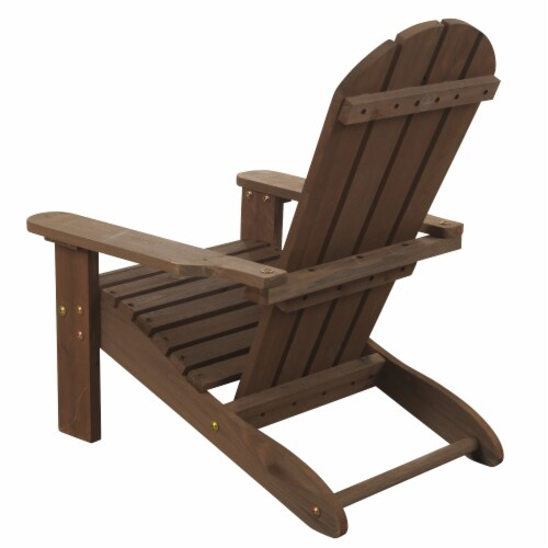 KidKraft Children's Adirondack Chair - Espresso Perspective: bottom