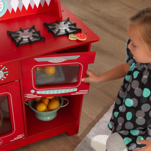 KidKraft Classic Kitchenette - Red Perspective: bottom