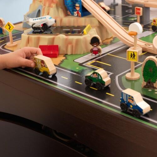 KidKraft Metropolis Train Set & Table Perspective: bottom