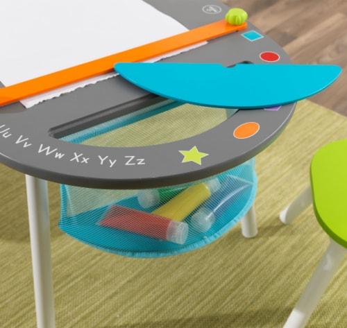 KidKraft Chalkboard Art Table with Stools Perspective: bottom