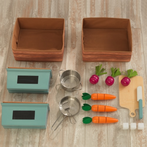 KidKraft Farm to Table Play Kitchen with EZ Kraft Assembly™ Perspective: bottom