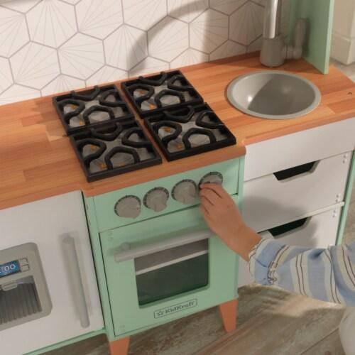KidKraft Mid-Century Modern Play Kitchen with EZ Kraft Assembly™ Perspective: bottom