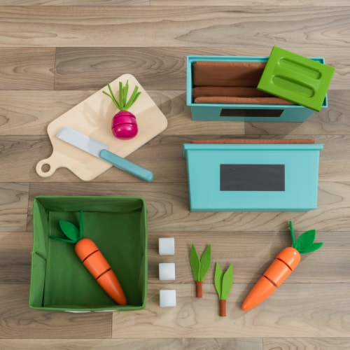 KidKraft Garden Gourmet Play Kitchen with EZ Kraft Assembly™ Perspective: bottom