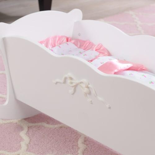 KidKraft Tiffany Bow Lil Doll Cradle Perspective: bottom