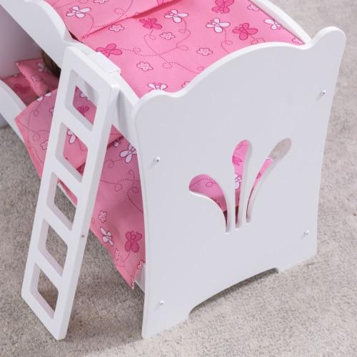 KidKraft Lil' Doll Bunk Bed Perspective: bottom