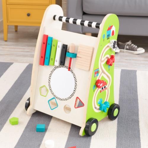 KidKraft Push Along Play Cart Perspective: bottom