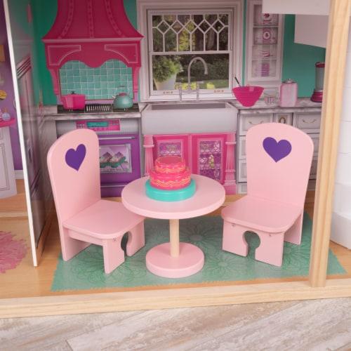 KidKraft 18-Inch Dollhouse Doll Manor Perspective: bottom