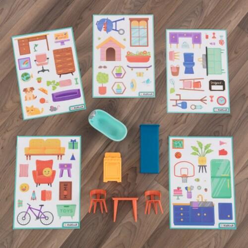 KidKraft Designed by Me™: Sticker Fun House Perspective: bottom