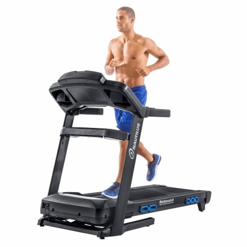 Nautilus T618 Performance Tracking Home Workout Training Treadmill Machine Perspective: bottom