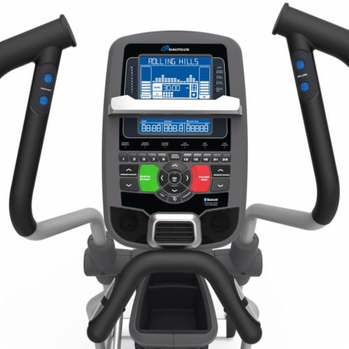 Nautilus E618 Performance Series Home and Gym Workout Cardio Elliptical Trainer Perspective: bottom