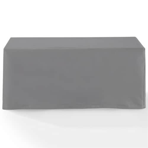 Crosley Patio Coffee Table Cover in Gray Perspective: bottom