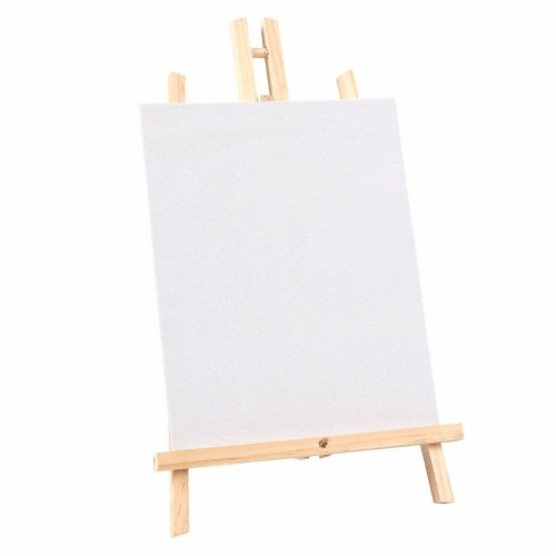 Wood Easels, Easel Stand for Painting, Art, and Crafts (9 x 14.8 in, 12 Pack) Perspective: bottom