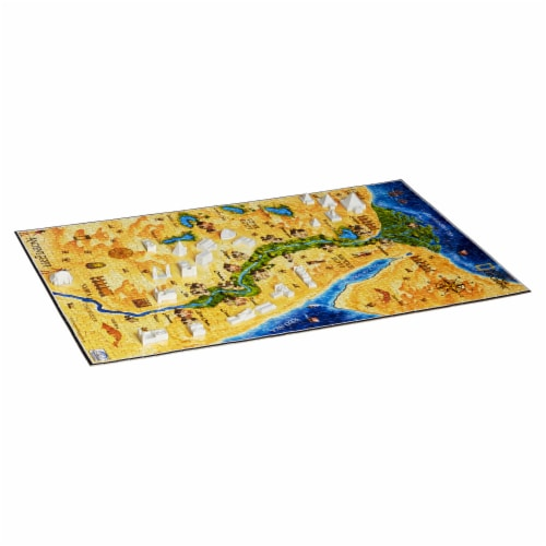 4D Cityscape National Geographic Ancient Egypt Time Puzzle Perspective: bottom
