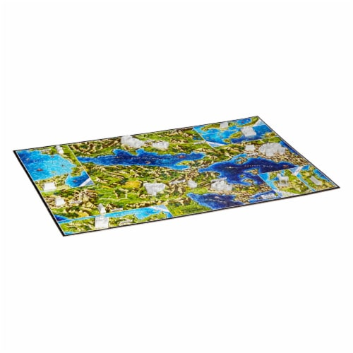 4D Cityscape National Geographic Ancient Greece Time Puzzle Perspective: bottom