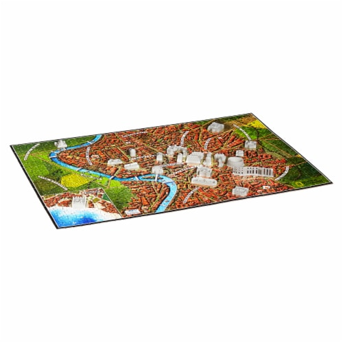4D Cityscape National Geographic Ancient Rome Time Puzzle Perspective: bottom