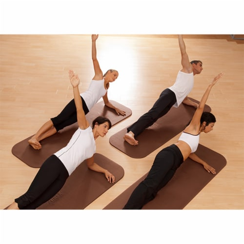 Airex Coronella 200 Closed Cell Foam Fitness Mat for Yoga & Pilates, Terracotta Perspective: bottom