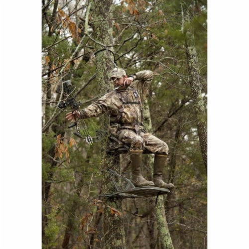 Summit Openshot 81115 SD Self Climbing Treestand for Bow & Rifle Deer Hunting Perspective: bottom