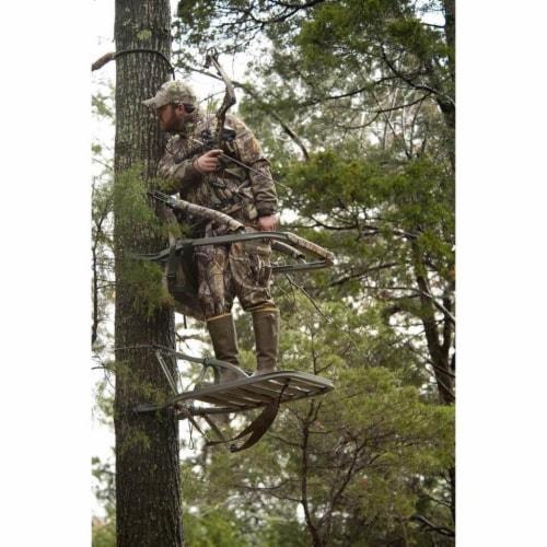Summit Titan SD Self Climbing Portable Treestand Bow & Rifle Deer Hunting 81118 Perspective: bottom