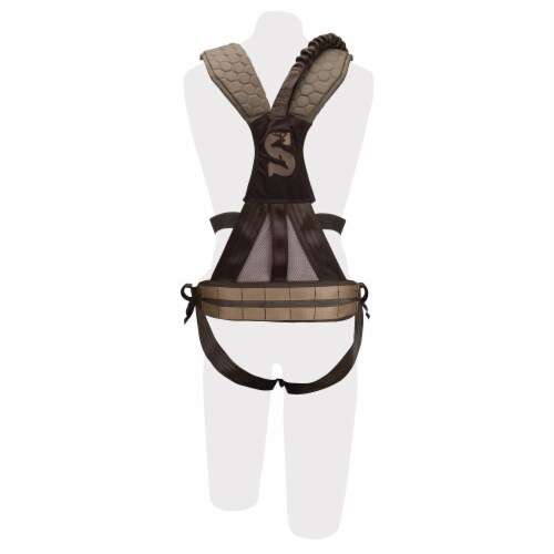 Pradco Summit Treestand Men's Pro Safety Harness 300-Lbs Max, Large | 83082 Perspective: bottom