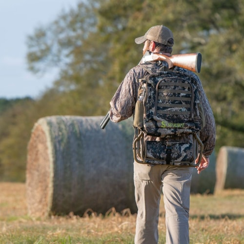 Summit Treestands Lightweight Hunting Compact Chairpack 2.5, Veil Whitetail Perspective: bottom