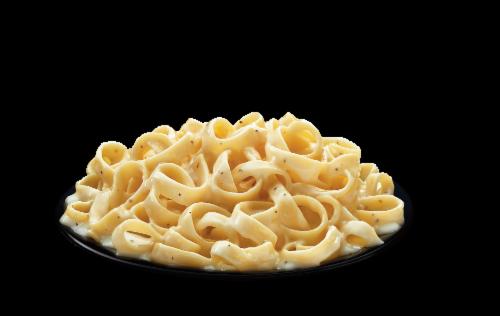Michelina's Fettuccine Alfredo Frozen Meal Perspective: bottom