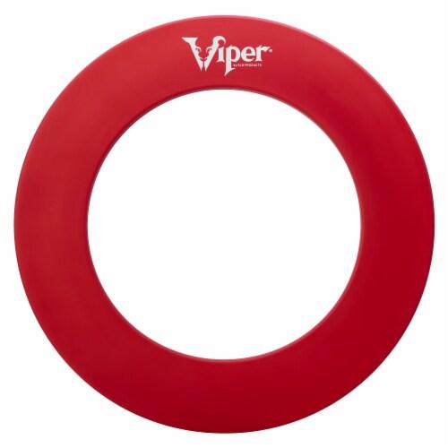 Viper Guardian Dartboard Surround Red Perspective: bottom