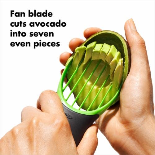 OXO 3-in-1 Avocado Slicer - Green Perspective: bottom