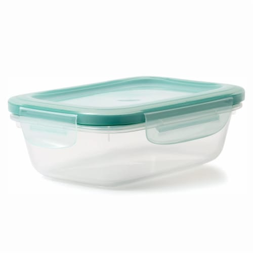 OXO Good Grips 30 Piece Food Storage Container Set with Matching Lids, Clear Perspective: bottom