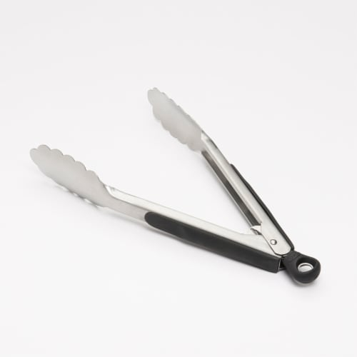 OXO Good Grips Tongs - Silver/Black Perspective: bottom
