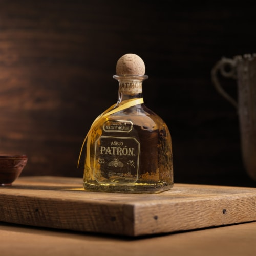 Patron Anejo Tequila Perspective: bottom