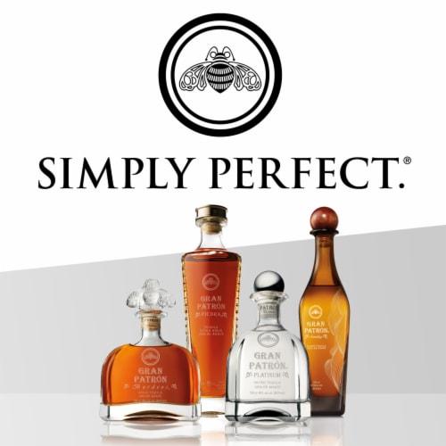Gran Patron Platinum Silver Tequila Perspective: bottom