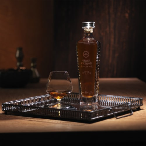 Gran Patron Piedra Extra Anejo Tequila Perspective: bottom