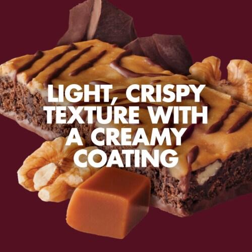 Luna Caramel Walnut Brownie Nutrition Bar Perspective: bottom