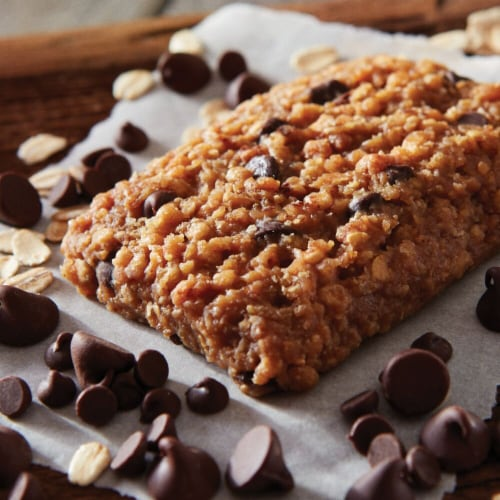 Clif Bar Chocolate Chip Energy Bar Perspective: bottom