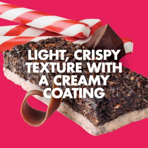 Luna Chocolate Peppermint Stick Nutrition Bar Perspective: bottom
