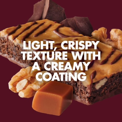 Luna Caramel Walnut Brownie Whole Nutrition Bars Perspective: bottom