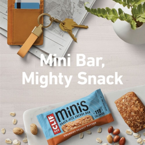 Clif Bar Crunchy Peanut Butter Mini Snack Bars Perspective: bottom